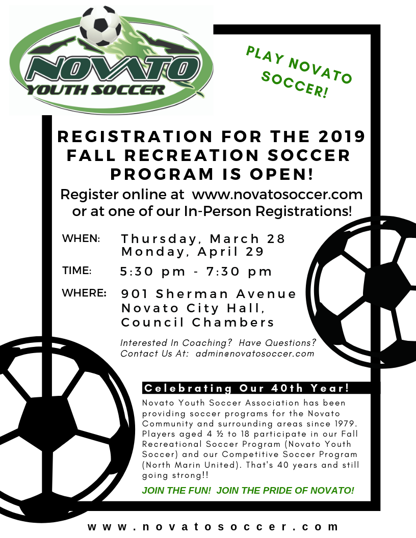 2019 RECREATION REGISTRATION