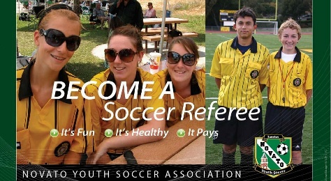 Referee Classes for Adults and Teens